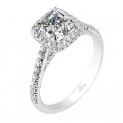 Parade New Classic R2813 14 Karat Diamond Engagement Ring