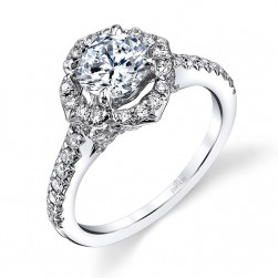 Parade Hemera Bridal 14 Karat Diamond Engagement Ring R3549