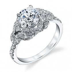 Parade Hemera Bridal Platinum Diamond Engagement Ring R3350
