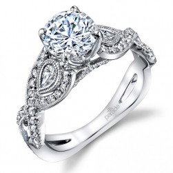 Parade Hemera Bridal Platinum Diamond Engagement Ring R3680