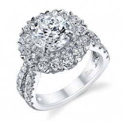 Parade Hemera Bridal R3007 18 Karat Diamond Engagement Ring