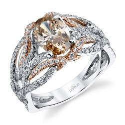 Parade Hemera Bridal R3020 14 Karat Diamond Engagement Ring