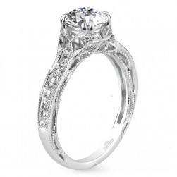 Parade Hera Bridal R3052 Platinum Diamond Engagement Ring