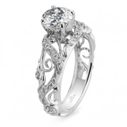 Parade Hera Bridal R3055 14 Karat Diamond Engagement Ring