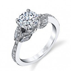 Parade Lyria Bridal 14 Karat Diamond Engagement Ring R3524