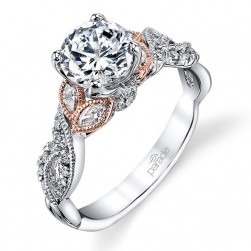 Parade Lyria Bridal 14 Karat Diamond Engagement Ring R3567