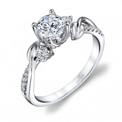 Parade Lyria Bridal 14 Karat Diamond Engagement Ring R3707