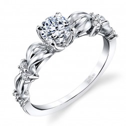 Parade Lyria Bridal Platinum Diamond Engagement Ring R3761
