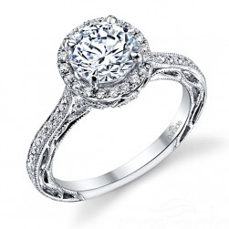 Parade Lyria Bridal R3079 18 Karat Diamond Engagement Ring