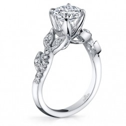 Parade Lyria Bridal R3157 Platinum Diamond Engagement Ring