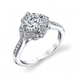 Parade Lyria Bridal R3197 14 Karat Diamond Engagement Ring