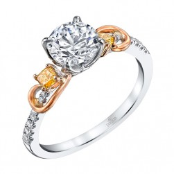 Parade Reverie Bridal Platinum Diamond Engagement Ring R3292