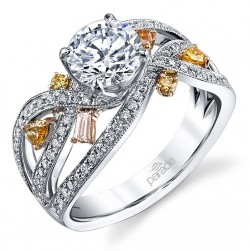 Parade Reverie Bridal Platinum Diamond Engagement Ring R3359