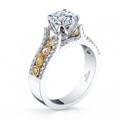 Parade Reverie Bridal R3101 Platinum Diamond Engagement Ring