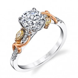 Parade Reverie Bridal R3293 14 Karat Diamond Engagement Ring
