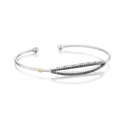 SB20644 Tacori The Ivy Lane Open Surfboard Bangle Bracelet