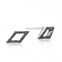 Tacori SE22744 The Ivy Lane Pavé Chevron Stud Earrings