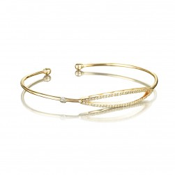 SB206Y Tacori The Ivy Lane Open Surfboard Bracelet