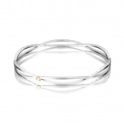 SB207 Tacori The Ivy Lane Open Surfboard Bangle Bracelet