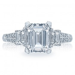 Tacori 18 Karat Simply Tacori Engagement Ring 2579EM85X65