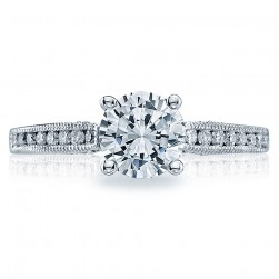 Tacori 18 Karat Simply Tacori Engagement Ring 3003