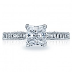 Tacori 18 Karat Simply Tacori Engagement Ring 3005