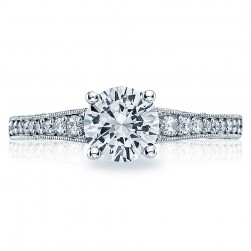 Tacori 18 Karat Simply Tacori Engagement Ring 3006-3000RD65