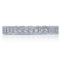 Tacori HT2430B Platinum Wedding Band