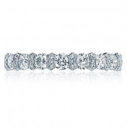 Tacori HT2519 Platinum Wedding Band