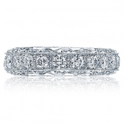 Tacori HT2530 Platinum Wedding Band