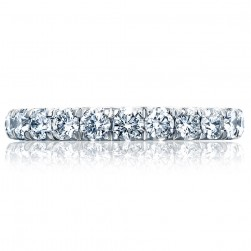 Tacori HT2623B34 Platinum RoyalT Wedding Ring