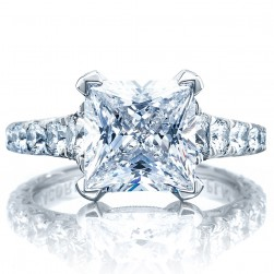 Tacori HT2623PR85 Platinum RoyalT Engagement Ring
