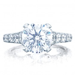 Tacori HT2623RD9 Platinum RoyalT Engagement Ring