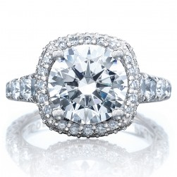 Tacori HT2624CU95 18 Karat RoyalT Engagement Ring