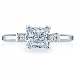 Tacori Platinum Simply Tacori Engagement Ring 2605PR55