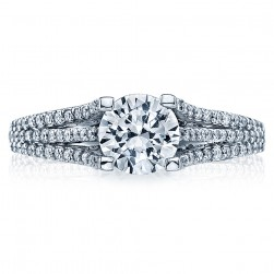 Tacori Platinum Simply Tacori Engagement Ring 2634RD65