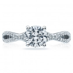 Tacori Platinum Simply Tacori Engagement Ring 3004