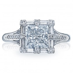 Tacori Platinum Simply Tacori Solitaire Engagement Ring 2525PR65