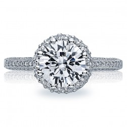 Tacori Platinum Solitaire Engagement Ring 2502RDP6.5