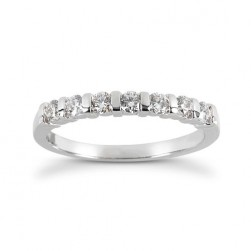 Diamond Five Stone Band 14 Karat Taryn Collection TQD B-592-5