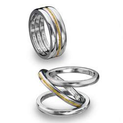 Kretchmer Polarium Inner Secrets Tri Band Ring