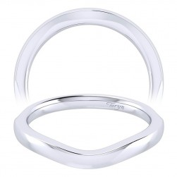 Taryn 14 Karat White Gold Perfect Match Wedding Band TW001CW4JJJ