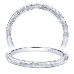 Taryn 14 Karat White Gold Straight Wedding Band TW11833R3W4JJJ