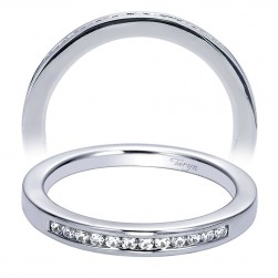 Taryn 14 Karat White Gold Straight Wedding Band TW6352W44JJ