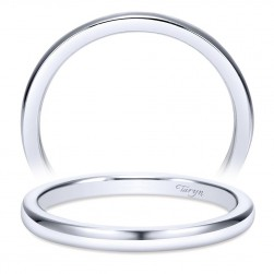 Taryn 14 Karat White Gold Straight Wedding Band TW8076W4JJJ