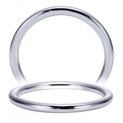 Taryn 14 Karat White Gold Straight Wedding Band TW8289W4JJJ