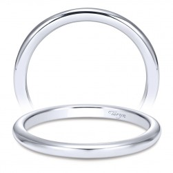 Taryn 14 Karat White Gold Straight Wedding Band TW8880W4JJJ