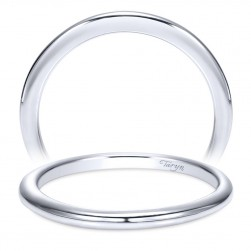 Taryn 14 Karat White Gold Straight Wedding Band TW9088W4JJJ