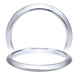 Taryn 14 Karat White Gold Straight Wedding Band TW911730R0W4JJJ