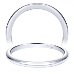 Taryn 14 Karat White Gold Straight Wedding Band TW9175W4JJJ